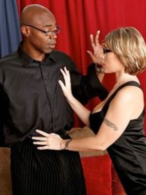 Mofos - Milf in glasses Velicity Von loves interracial reality hardcore