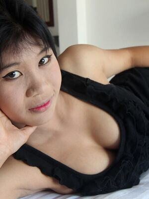 Tuk Tuk Patrol - Thai first timer Jang has a firm breast fondled before showing her tight slit