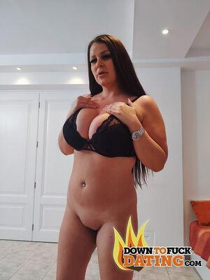 Analized - Tall Hungarian with big tits Anissa Jolie gets banged hardcore by a camera guy